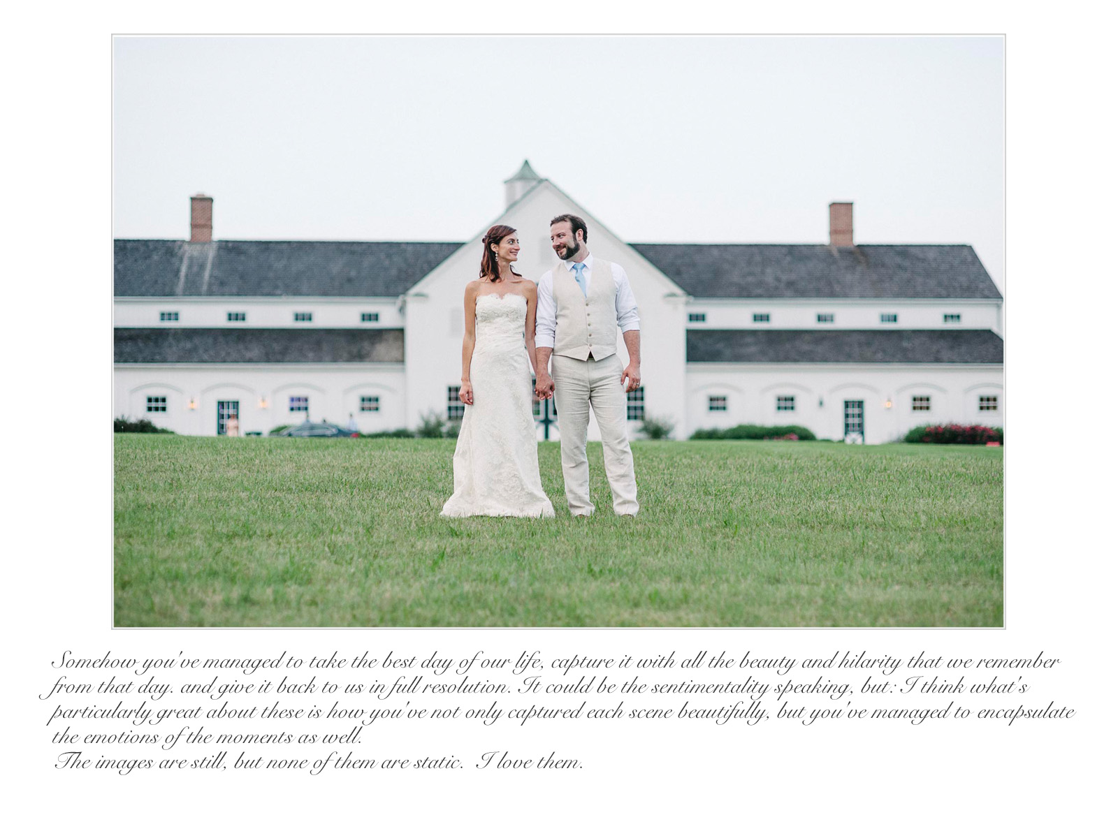 Scott wedding preview quote
